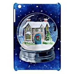 Winter Snow Ball Snow Cold Fun Apple iPad Mini Hardshell Case