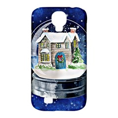 Winter Snow Ball Snow Cold Fun Samsung Galaxy S4 Classic Hardshell Case (pc+silicone)