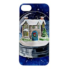 Winter Snow Ball Snow Cold Fun Apple Iphone 5s/ Se Hardshell Case