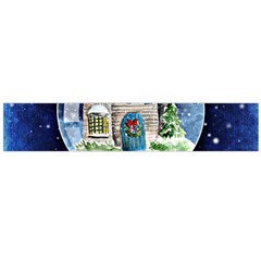 Winter Snow Ball Snow Cold Fun Flano Scarf (large)