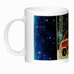 Winter Snow Ball Snow Cold Fun Night Luminous Mugs
