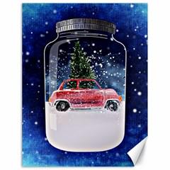 Winter Snow Ball Snow Cold Fun Canvas 18  x 24