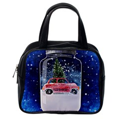 Winter Snow Ball Snow Cold Fun Classic Handbags (One Side)