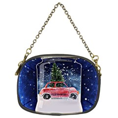 Winter Snow Ball Snow Cold Fun Chain Purses (Two Sides)