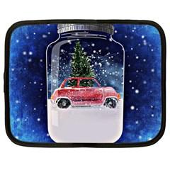 Winter Snow Ball Snow Cold Fun Netbook Case (XL)