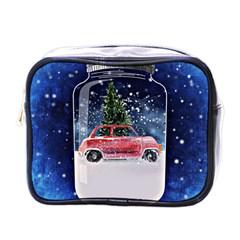 Winter Snow Ball Snow Cold Fun Mini Toiletries Bags