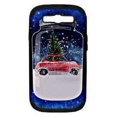 Winter Snow Ball Snow Cold Fun Samsung Galaxy S Iii Hardshell Case (pc+silicone)