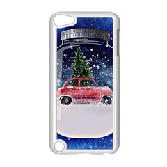 Winter Snow Ball Snow Cold Fun Apple Ipod Touch 5 Case (white)