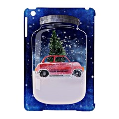 Winter Snow Ball Snow Cold Fun Apple Ipad Mini Hardshell Case (compatible With Smart Cover)