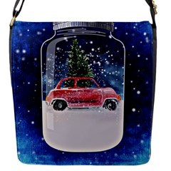 Winter Snow Ball Snow Cold Fun Flap Messenger Bag (s)