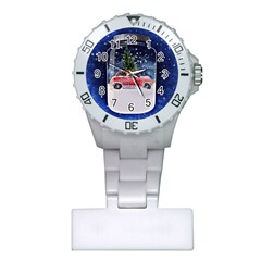 Winter Snow Ball Snow Cold Fun Plastic Nurses Watch
