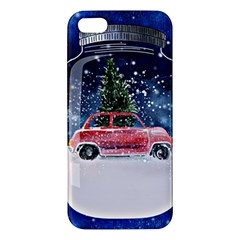 Winter Snow Ball Snow Cold Fun Iphone 5s/ Se Premium Hardshell Case