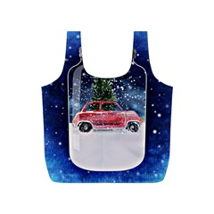 Winter Snow Ball Snow Cold Fun Full Print Recycle Bags (S)