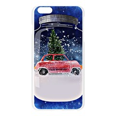 Winter Snow Ball Snow Cold Fun Apple Seamless iPhone 6 Plus/6S Plus Case (Transparent)