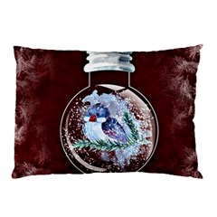 Winter Snow Ball Snow Cold Fun Pillow Case (two Sides)