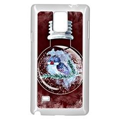 Winter Snow Ball Snow Cold Fun Samsung Galaxy Note 4 Case (White)