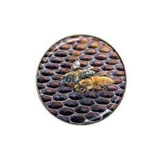Worker Bees On Honeycomb Hat Clip Ball Marker