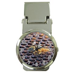 Worker Bees On Honeycomb Money Clip Watches