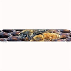 Worker Bees On Honeycomb Small Bar Mats