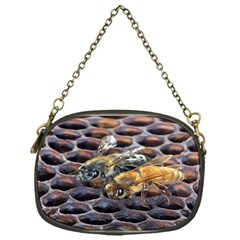 Worker Bees On Honeycomb Chain Purses (one Side)