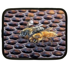 Worker Bees On Honeycomb Netbook Case (XL)