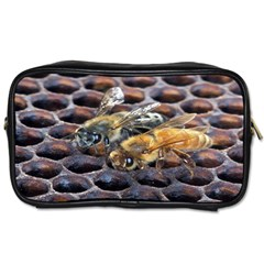 Worker Bees On Honeycomb Toiletries Bags 2-Side