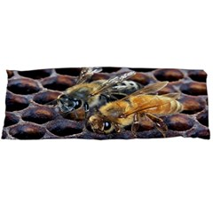 Worker Bees On Honeycomb Body Pillow Case Dakimakura (Two Sides)