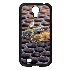Worker Bees On Honeycomb Samsung Galaxy S4 I9500/ I9505 Case (black)