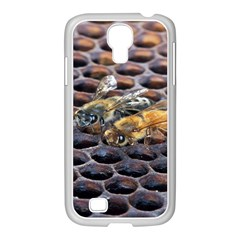 Worker Bees On Honeycomb Samsung Galaxy S4 I9500/ I9505 Case (white)