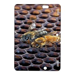 Worker Bees On Honeycomb Kindle Fire Hdx 8 9  Hardshell Case