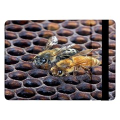 Worker Bees On Honeycomb Samsung Galaxy Tab Pro 12.2  Flip Case