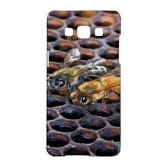 Worker Bees On Honeycomb Samsung Galaxy A5 Hardshell Case