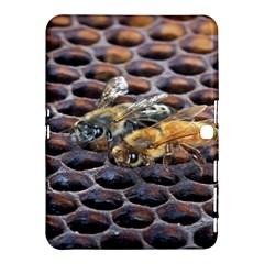 Worker Bees On Honeycomb Samsung Galaxy Tab 4 (10.1 ) Hardshell Case