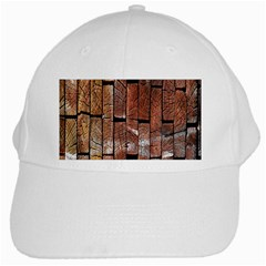 Wood Logs Wooden Background White Cap
