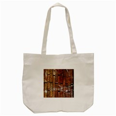 Wood Logs Wooden Background Tote Bag (cream)
