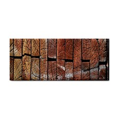 Wood Logs Wooden Background Cosmetic Storage Cases