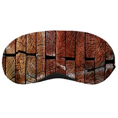 Wood Logs Wooden Background Sleeping Masks