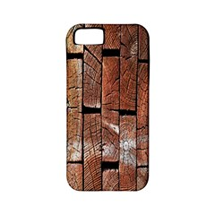 Wood Logs Wooden Background Apple Iphone 5 Classic Hardshell Case (pc+silicone)