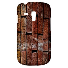 Wood Logs Wooden Background Galaxy S3 Mini