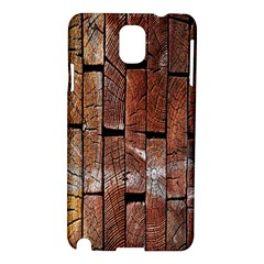 Wood Logs Wooden Background Samsung Galaxy Note 3 N9005 Hardshell Case
