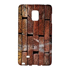 Wood Logs Wooden Background Galaxy Note Edge