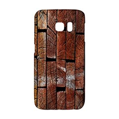 Wood Logs Wooden Background Galaxy S6 Edge