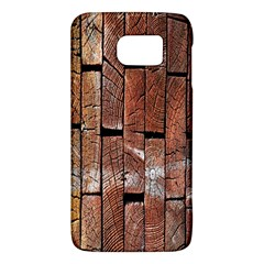 Wood Logs Wooden Background Galaxy S6