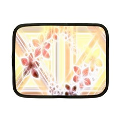 Swirl Flower Curlicue Greeting Card Netbook Case (Small)