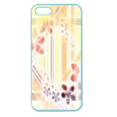 Swirl Flower Curlicue Greeting Card Apple Seamless Iphone 5 Case (color)