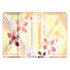Swirl Flower Curlicue Greeting Card Samsung Galaxy Tab 10 1  P7500 Flip Case