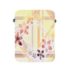 Swirl Flower Curlicue Greeting Card Apple Ipad 2/3/4 Protective Soft Cases