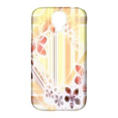 Swirl Flower Curlicue Greeting Card Samsung Galaxy S4 Classic Hardshell Case (pc+silicone)