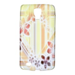 Swirl Flower Curlicue Greeting Card Galaxy S4 Active