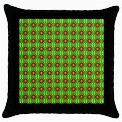 Wrapping Paper Christmas Paper Throw Pillow Case (black)